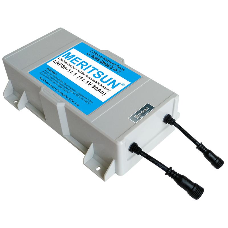 energy saving lithium battery for solar lights customized for garden-1