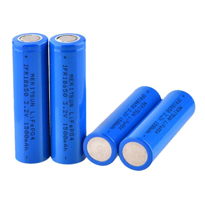 IFR 18650 3.2V 1500mAh Lithium Li-ion Li ion LiFePO4 Rechargeable Lithium ion Battery Cell-1