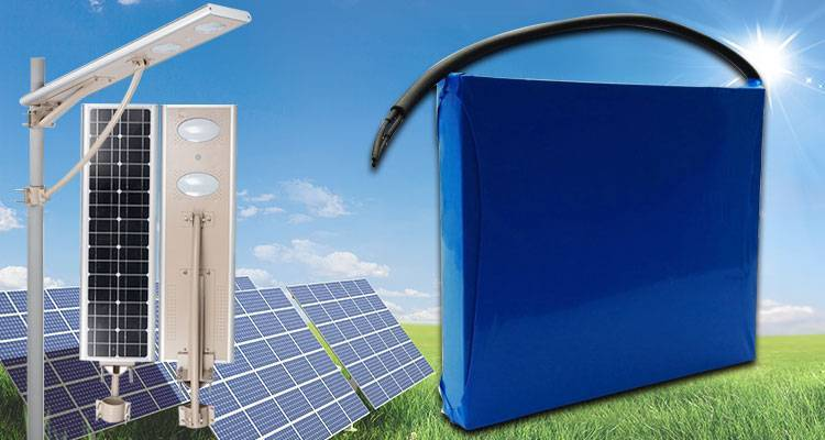 lithium ion battery for solar street light cycle all battery solar street light lithium battery manufacture