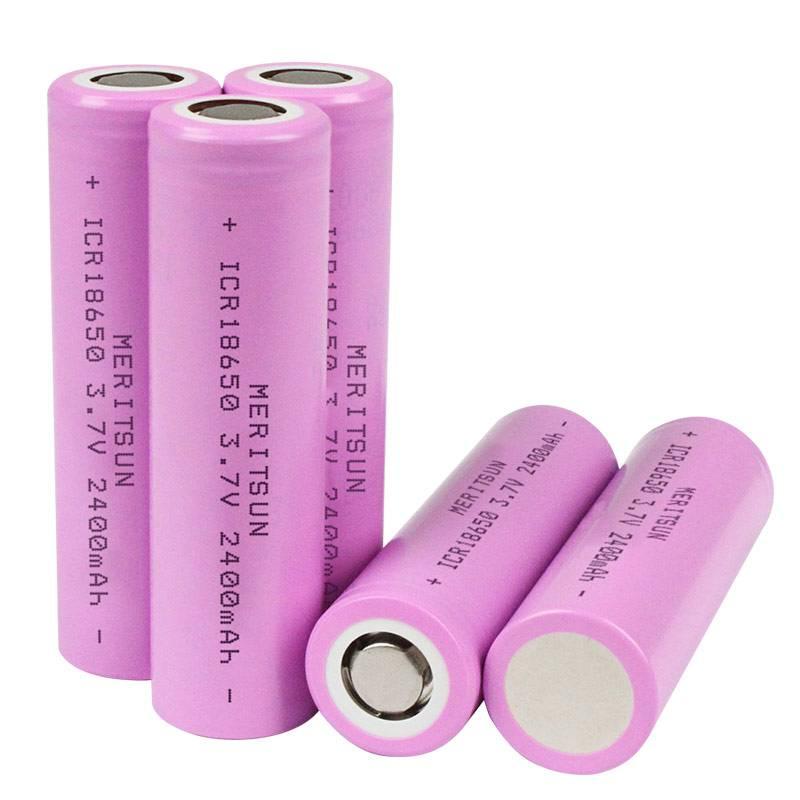 3.7V 2400mAh ICR 18650 Lithium Li-ion Rechargeable Lipo Battery-1