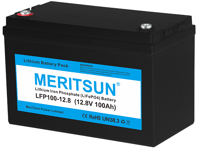 Lithium battery for golf cart