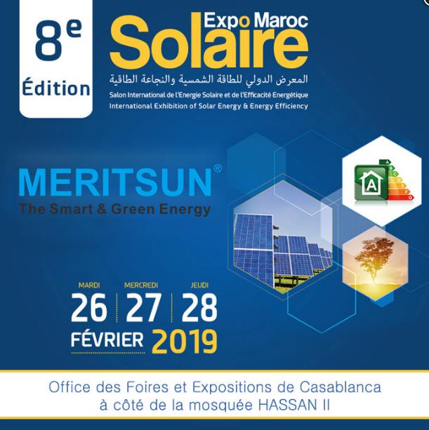 MERITSUN SOLAIRE EXPO MAROC