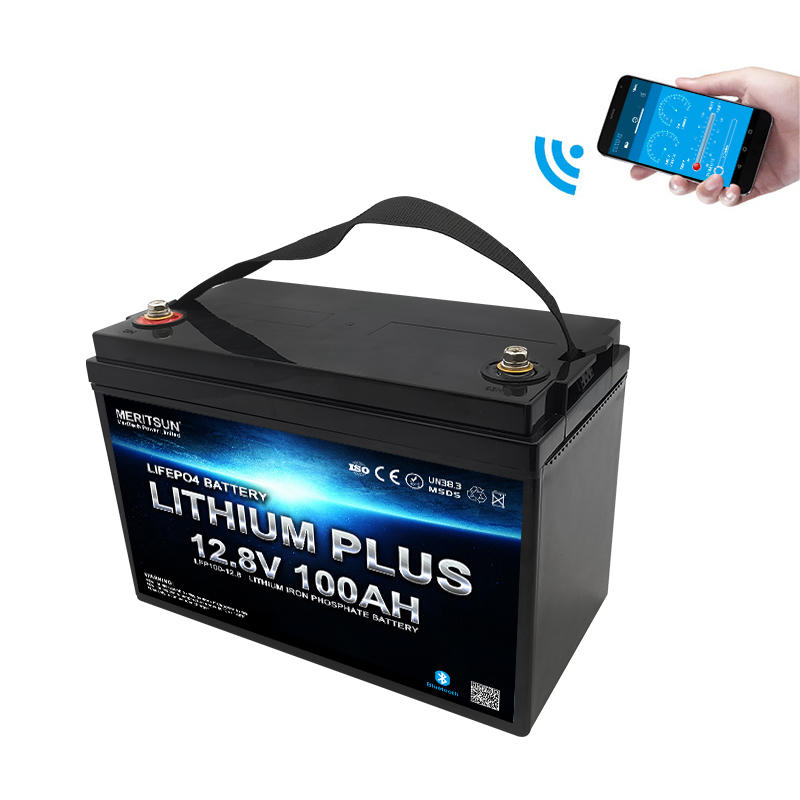 Lifepo4 Battery Lithium Battery 12v 100ah Solar Marine With Bluetooth