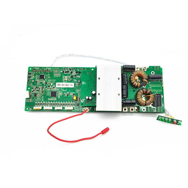 High Quality 16S 48V Smart BMS circuit board With balance Low voltage switch for Lithium battery pack