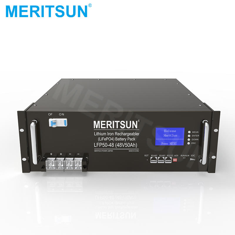 48V 50Ah LiFePO4 Lithium ion Battery ESS Energy Storage System in Solar Energy Systems