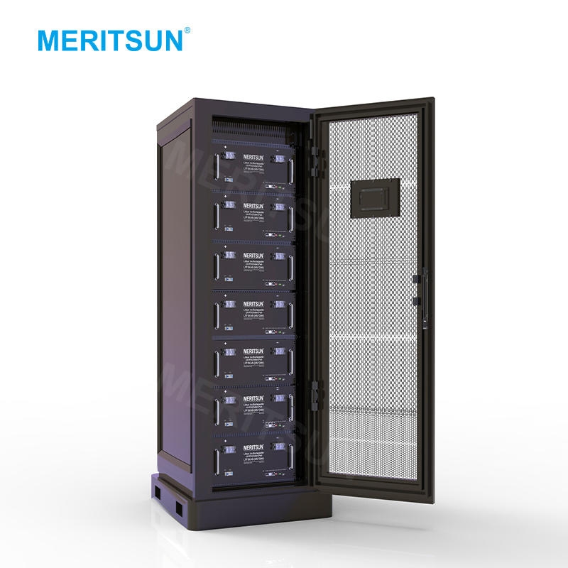 MeritSun ESS Energy Storage System 48V 100Ah LiFePO4 Lithium ion Battery with 6000 Cycles Life