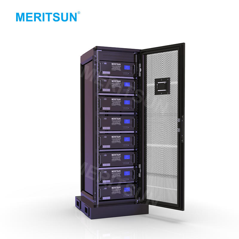MeritSun High Voltage 48V 50Ah Solar Lithium Battery With Bms For Lithium Ion Battery Pack
