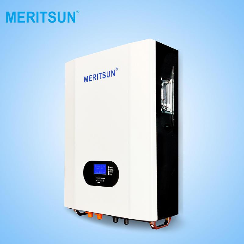 Meritsun Lifepo4 Battery 5kw Solar Power For Home Light System powerwall
