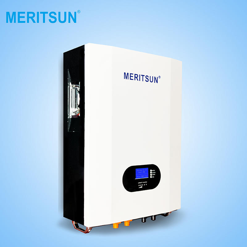 Patented Technologies Tesla Powerwall Lithium Battery 48V 140Ah With 3K 5K Hybrid Inverter ON Off Grid for Home Solar Power System