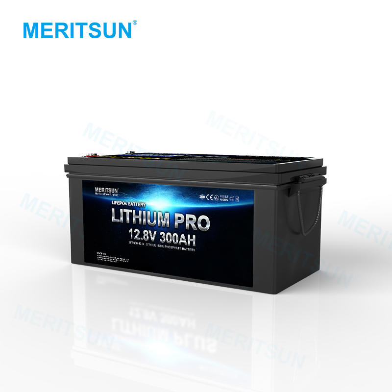 MeritSun Customized Rechargeable Lithium Lifepo4 Liion 12v 200h Battery Lifepo4 Prismatic Cell