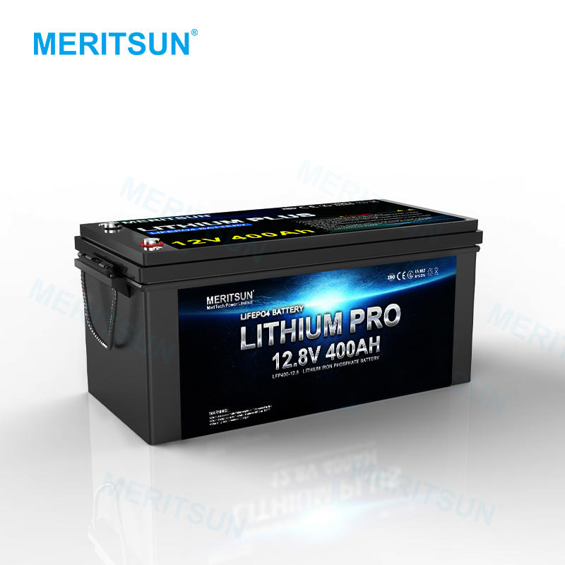 MERITSUN 12.8V 300Ah Rechargeable Prismaticcell Lifepo4 BatteryPack Lithium Lifepo4 Cell Battery