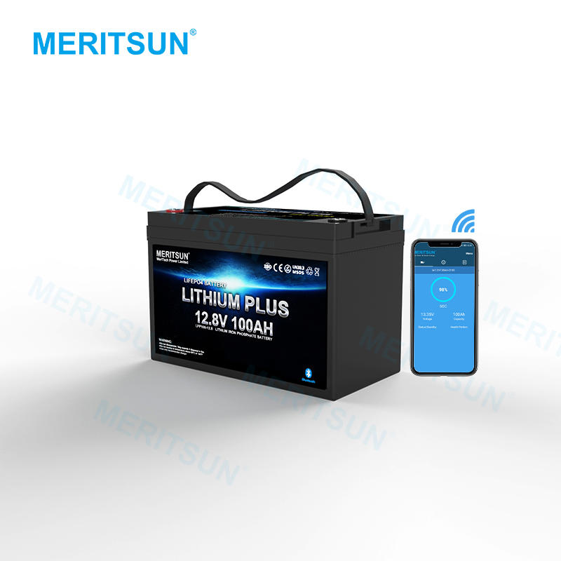 High Quality Lifepo4 Solar Battery 12v 100ah 200ah 300ah Lifepo4 Lithium Battery Pack Manufacturer Mit With Smart BMS