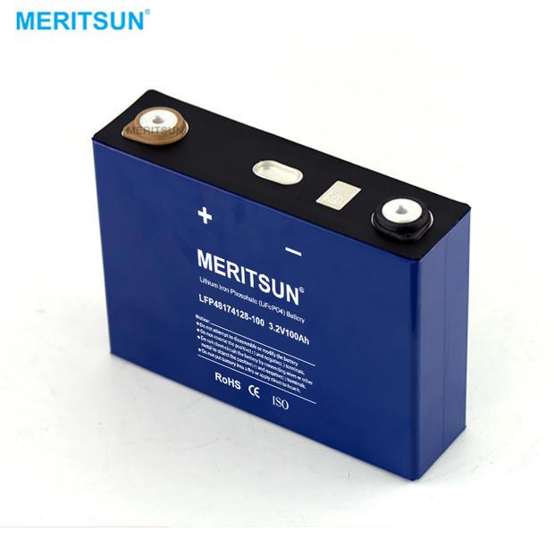 Lithium Li Ion Battery 3.2V 100Ah LiFePO4 Cell for 12V 24V 48V 96V Solar EV Solar Storage System