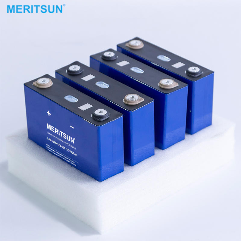 Deep cycle lifepo4 prismatic 3.2v 100ah lifepo4 battery cell for solar system