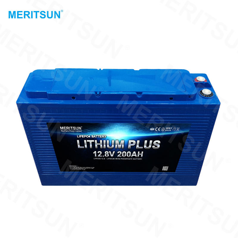 Ultra thin lithium battery pack 12v 200ah deep cycle battery for vehicle/off road/solar energy system
