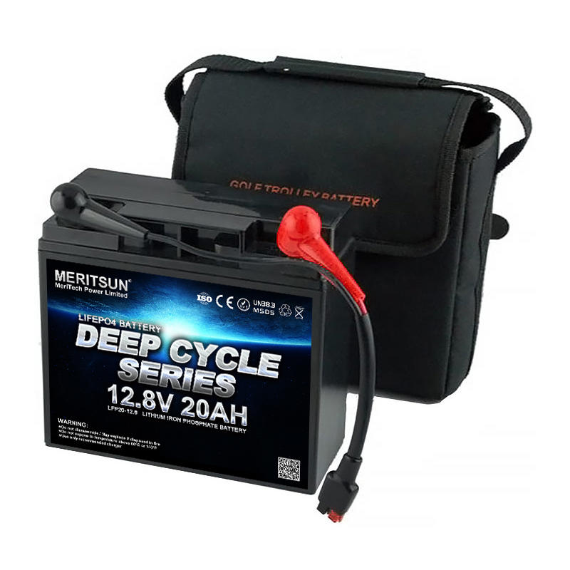Deep cycle Rechargeable Solar Lifepo4 Battery 12v 20ah Lithium-ion Titanate Battery Pack for Golf Cart