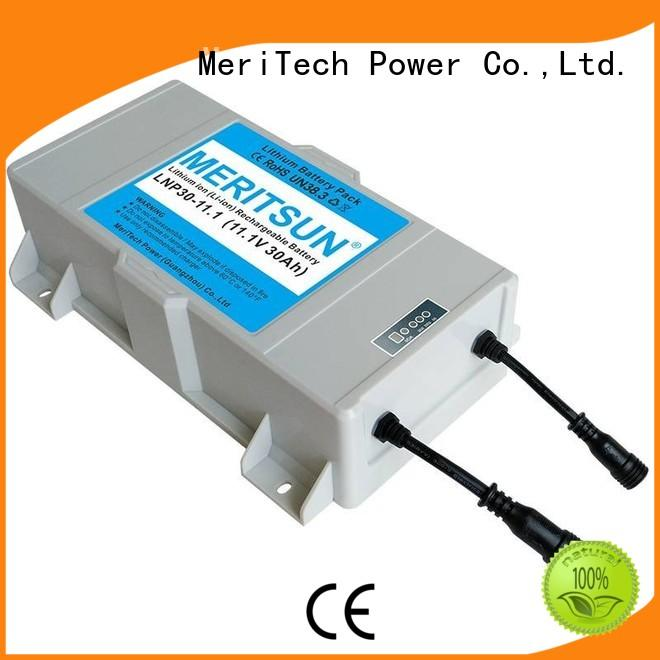MERITSUN low-carbon lithium battery for solar lights wholesale for roadway