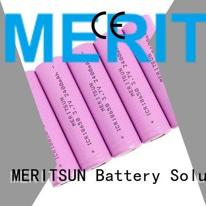MERITSUN Brand 36v lithium ion battery cells