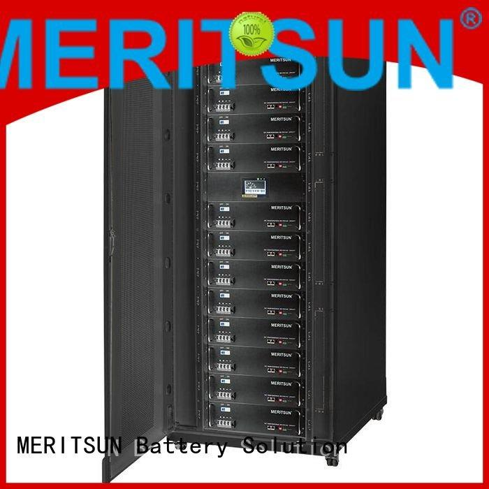 solar energy storage system lithium storage energy MERITSUN