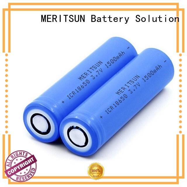 MERITSUN high energy density lithium ion cell factory direct supply for telecom
