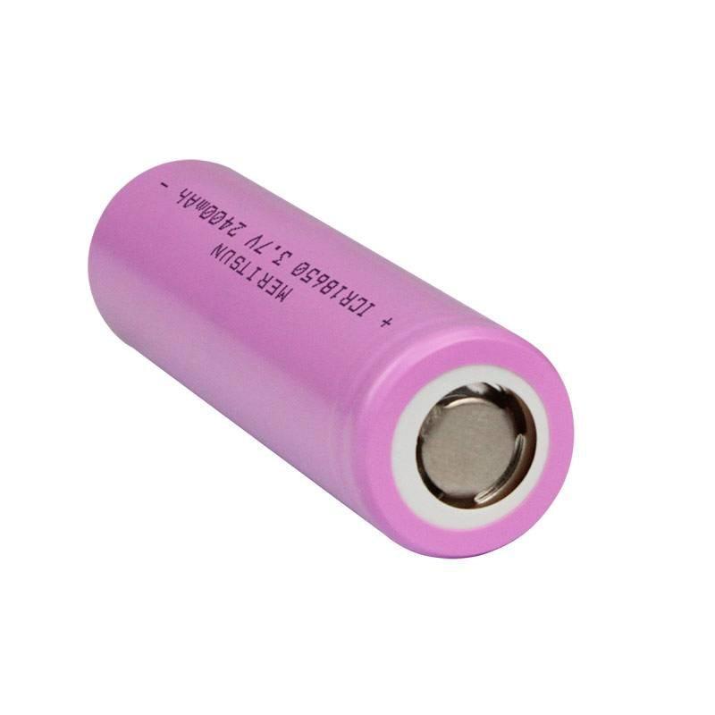 3.7V 2400mAh ICR 18650 Lithium Li-ion Rechargeable Lipo Battery