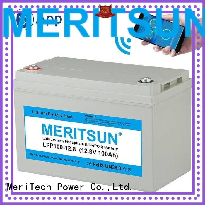 1c 256v lifepo4 battery price 200ah cycle MERITSUN Brand