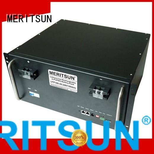 50ah battery energy storage system lithium MERITSUN company