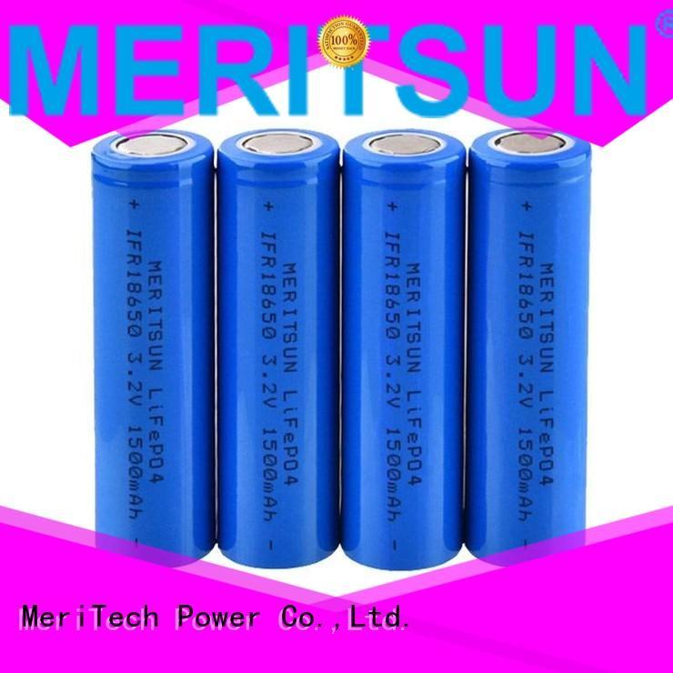 MERITSUN Brand icr drain 32v ifr li ion battery cell