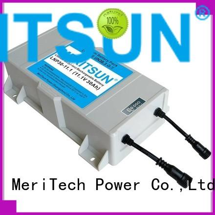 MERITSUN lithium battery for solar lights wholesale outdoor