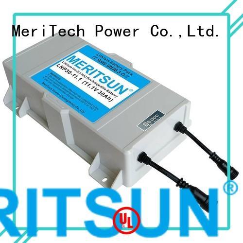 Wholesale lithium solar street light lithium battery MERITSUN Brand
