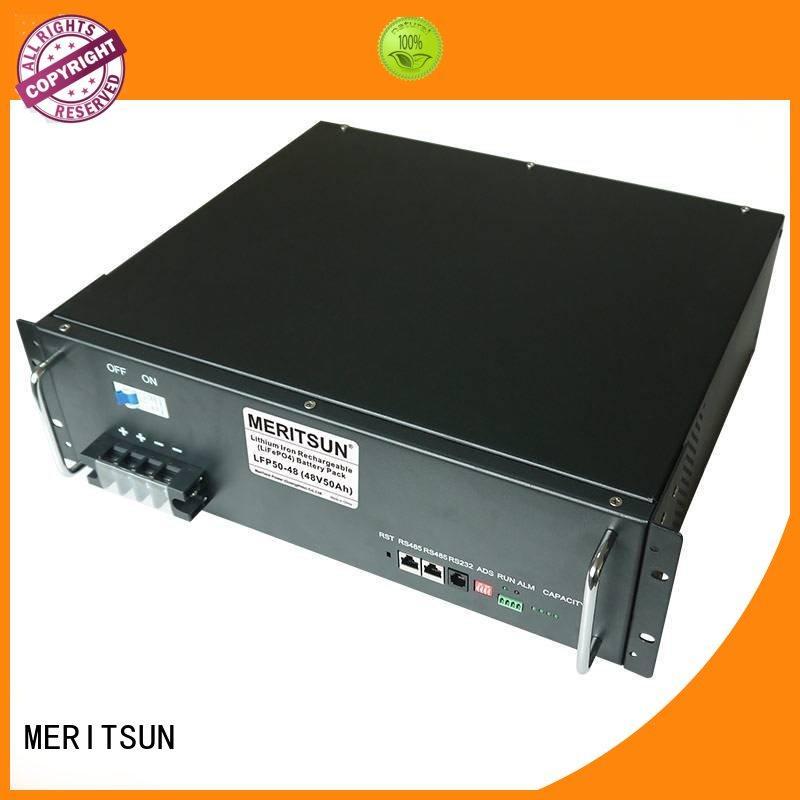 MERITSUN telecom energy storage devices for commercial