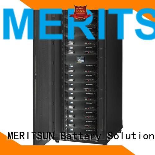 storage iron solar energy storage system system lithium MERITSUN Brand