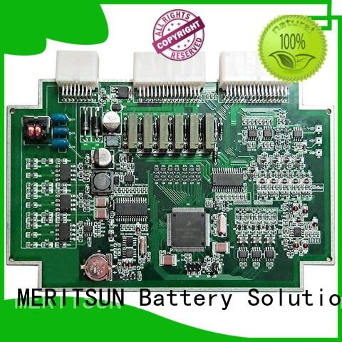 MERITSUN lithium bms customized for prolong the life of battery