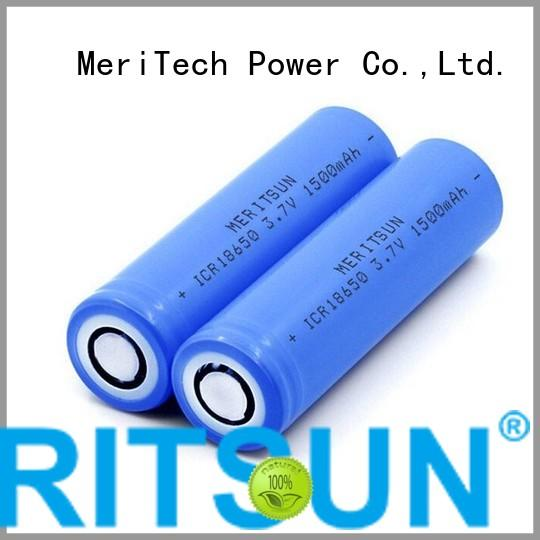 Quality MERITSUN Brand li 37v li ion battery cell