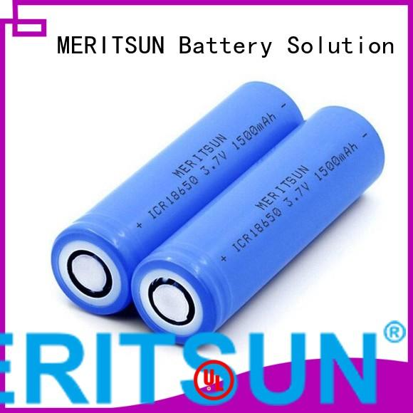MERITSUN Brand drain lifepo4 custom lithium ion battery cells