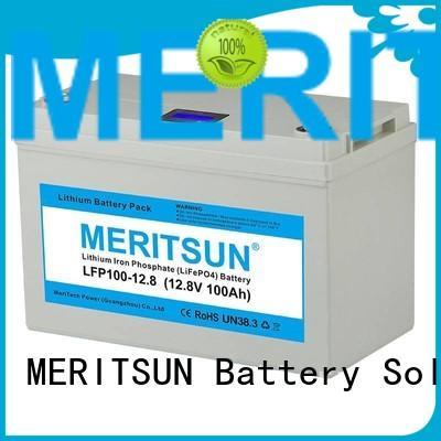 ion 200ah control app MERITSUN Brand lifepo4 battery supplier