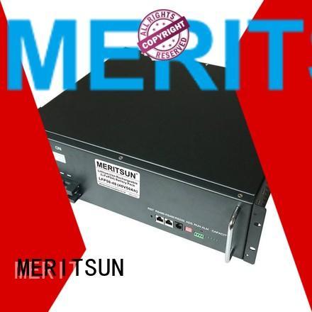 battery lifepo4 battery energy storage system ess MERITSUN Brand company