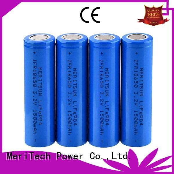 MERITSUN capacity matching 18650 battery cell wholesale for flashlight