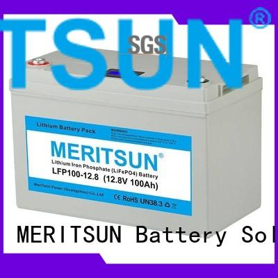 MERITSUN Brand control battery ion custom lifepo4 battery price