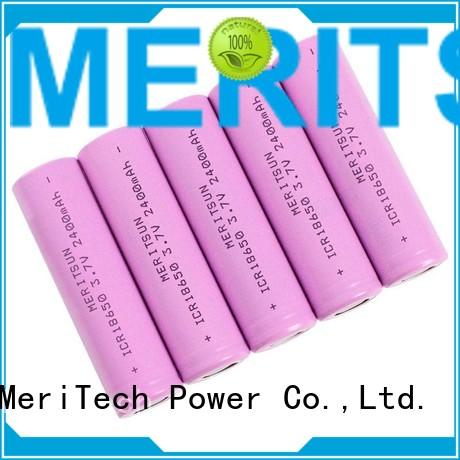 Hot 32v li ion battery cell 18650 ion MERITSUN Brand