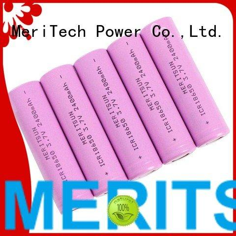 Quality MERITSUN Brand lithium ion battery cells