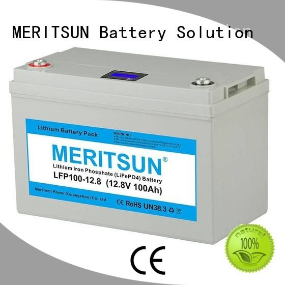 lithium battery manufacturers phosphate for building MERITSUN