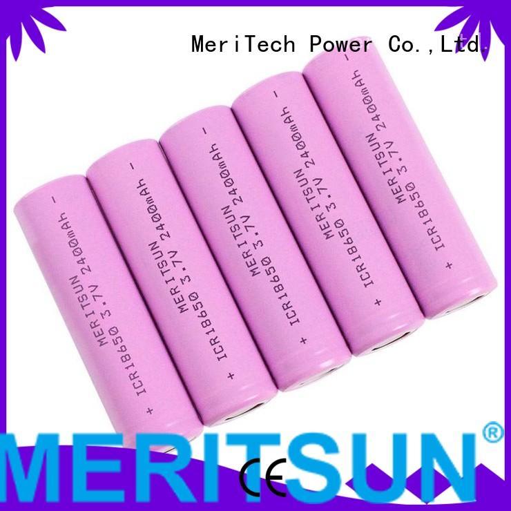 li lithium ion battery cells battery ion MERITSUN Brand