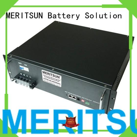 Quality MERITSUN Brand lithium 48v battery energy storage system