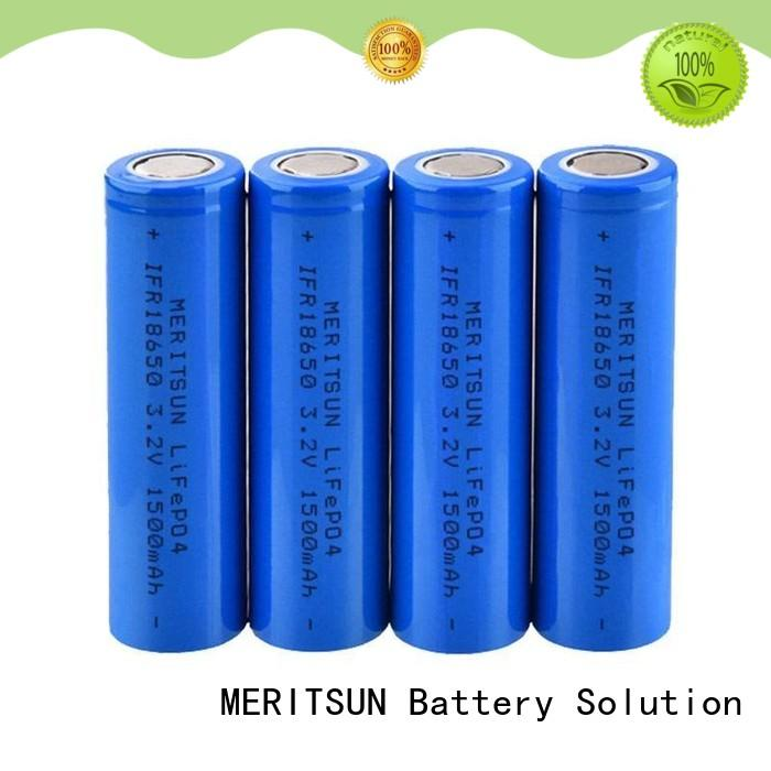 MERITSUN 18650 battery cell customized for electric vehicles