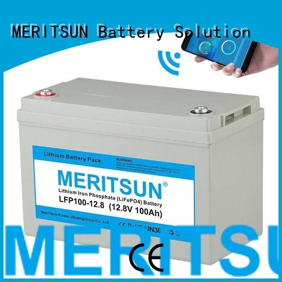 lifepo4 battery price iron 50ah Warranty MERITSUN
