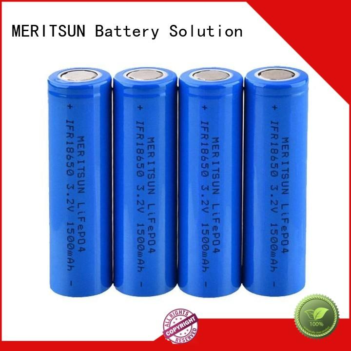MERITSUN environment friendly small lithium ion battery manufacturer for telecom