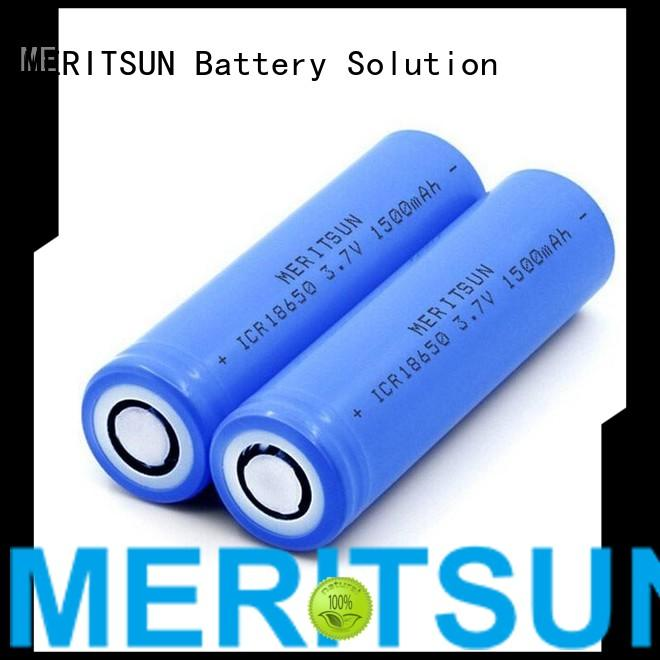 MERITSUN Brand 36v cell ion custom lithium ion battery cells