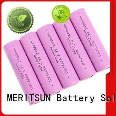 MERITSUN capacity matching icr 18650 battery manufacturer for flashlight