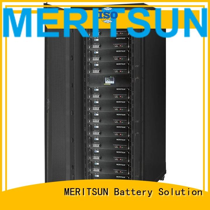 battery iron storage solar energy storage system MERITSUN manufacture